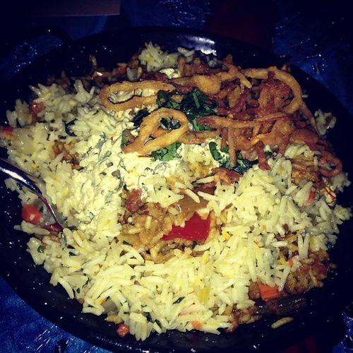 Hyderabadi Vegetable Biryani PassagetoIndia @ritzcarlton