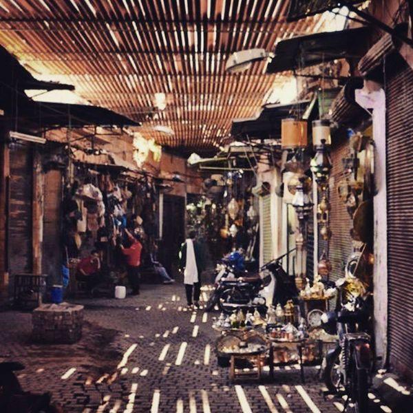 Marakesh Marocco Souks
