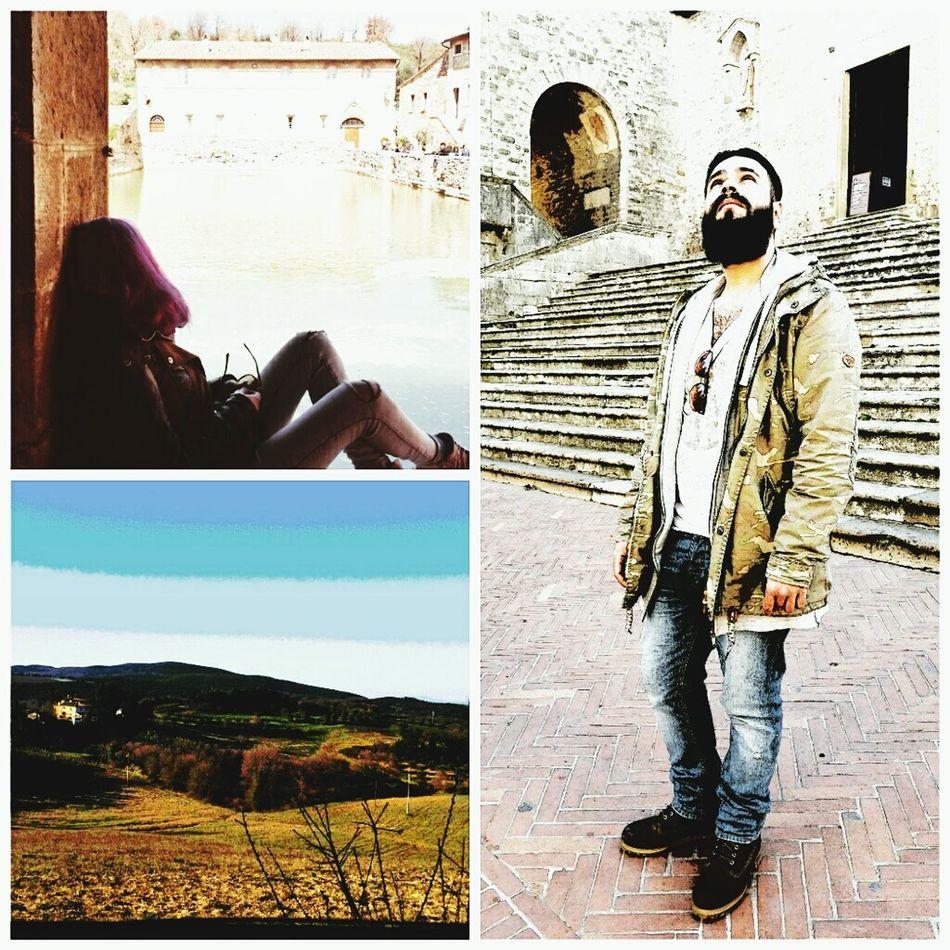 Semplicemente noi❤ Bagnovignoni Sangimignano Volterra Tiamotanto Ioetesempreinsieme Relaxing
