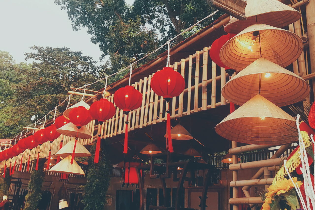 Raise the red lanterns Hanging Cultures Red Lantern Lanterns Red Lanterns Celebration No People Outdoors Check This Out EyeEm Gallery Tradition Open Edit Light Lamps Festival Red Lantern Decoration Close-up Non La Vietnam Culture From My Point Of View Culture Of Vietnam