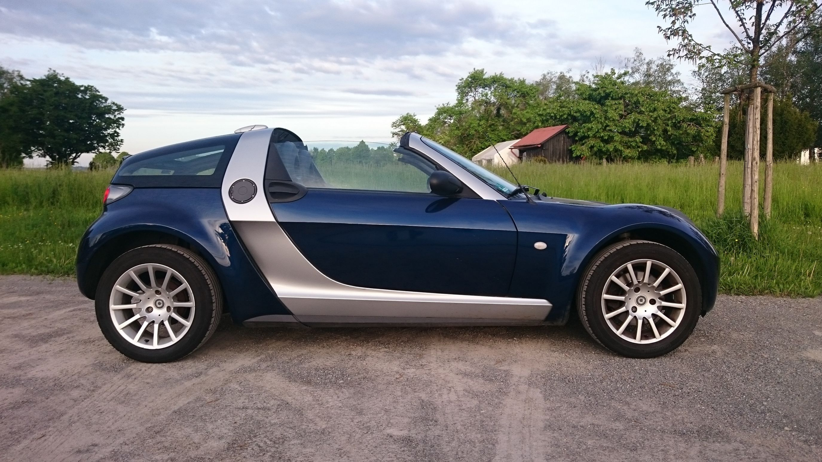 Finally - after 2 years - back on the road! What a feeling! Smart Smartroadster Smartroadstercoupè Love 452 Smartcar EndlessLove