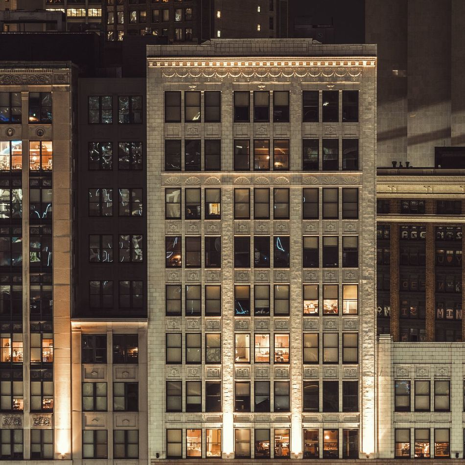 Architecture Building Exterior Window Built Structure Outdoors Cityscape Windows Skyline Detroit Michigan City Life Home Apartment Modern Historic Layers Stone Building Drone  Aerial View