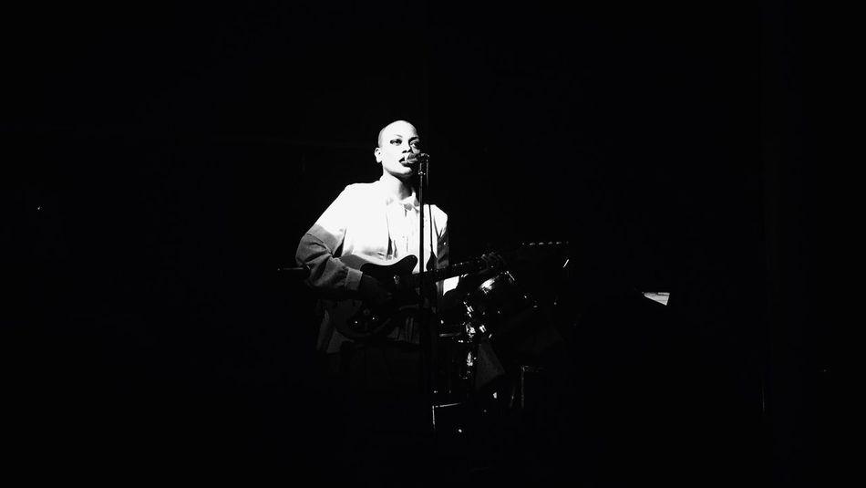 Music Party Black & White Minimalism
