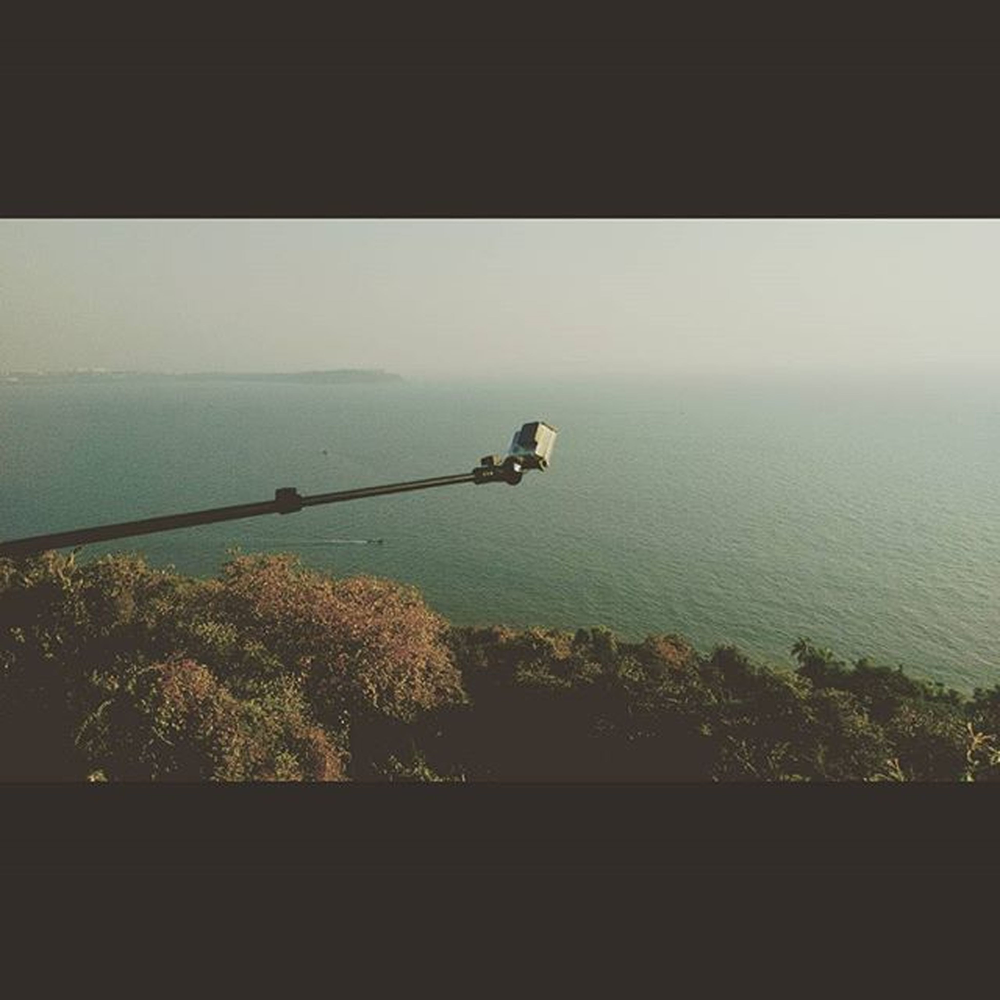 You can't capture the sea,not even with a Gopro Gopro Fortaguda Goa