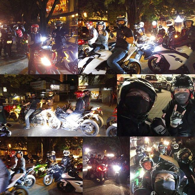 Motorcycle Zriders Sidewinders Kawasaki z250 ninja250fi ninja250 kawasakiz250 helmet shoei arai xlite val 2015 PhotoGrid lg g4 lg_g4 lg_g4