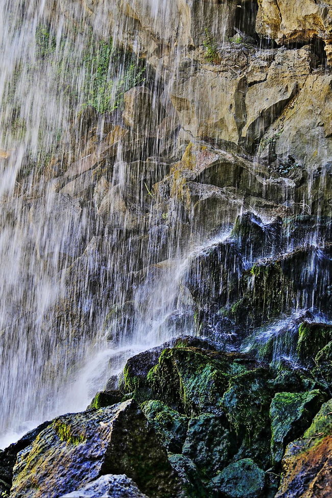 casolare delle balze Beauty In Nature Cascata Fiume Flowing Water Long Exposure Motion Rock Rock Formation Splashing Water