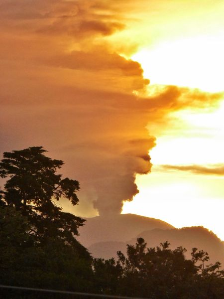 Cloud - Sky Dramatic Sky Good Morning Morning Sky Volcan Turrialba Sunrise Behind Volcano Sunrise And Clouds Costa Rica Eruption Volcano