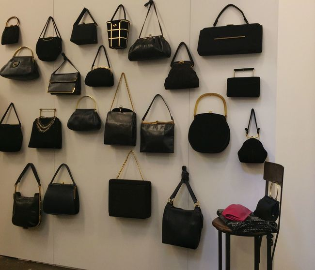 Bags Group Of Objects Arrangement Collection handbags
