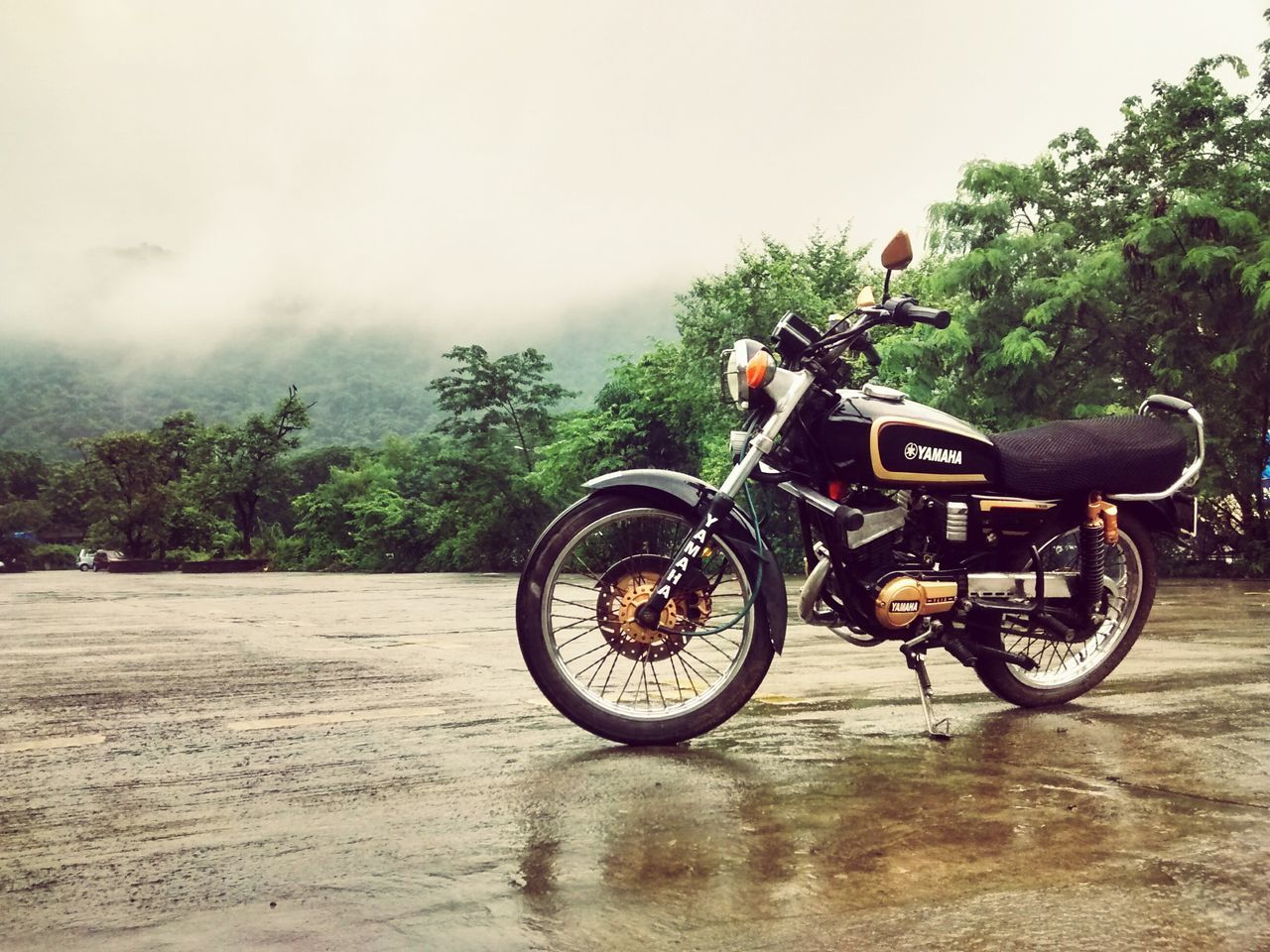The climate at its best and the Ride doing the rest.. Rx100 Yamaha First Eyeem Photo