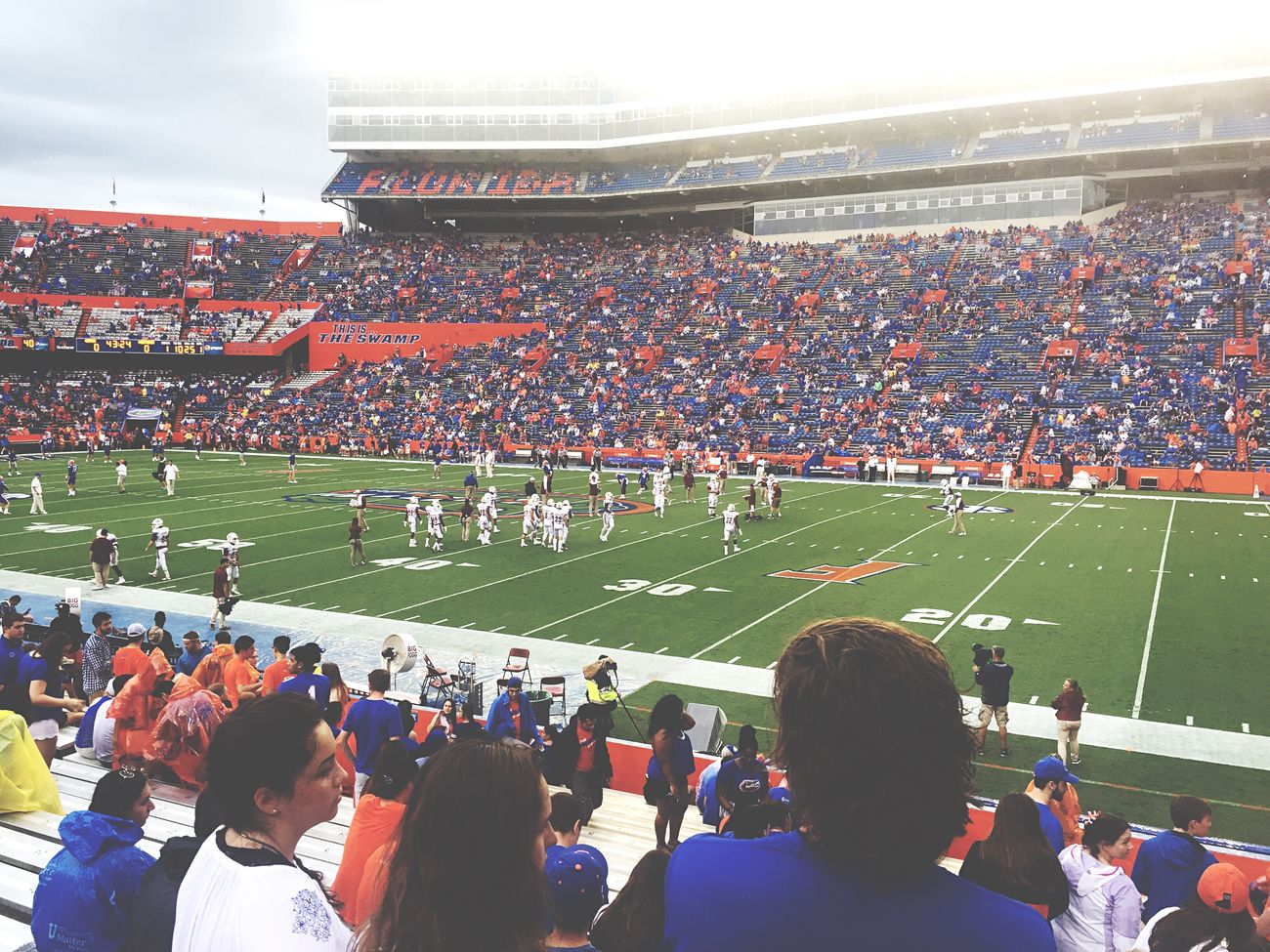 College life 👌🏼 Stadium Football University College Florida Gators American Football Sport Team Sport Sports Sports Photography