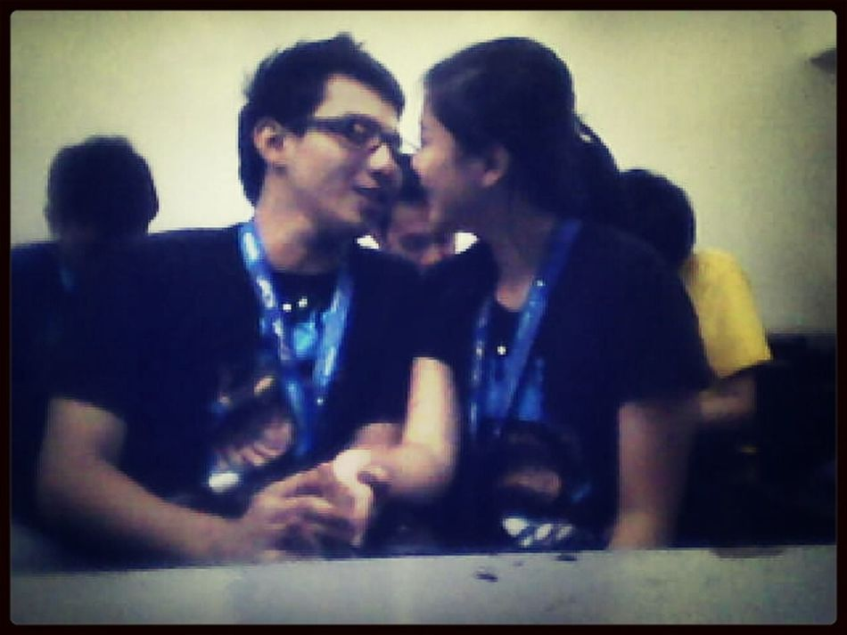 hold my hand , one look , one smile , now I can never say goodbye Loveydovey <3