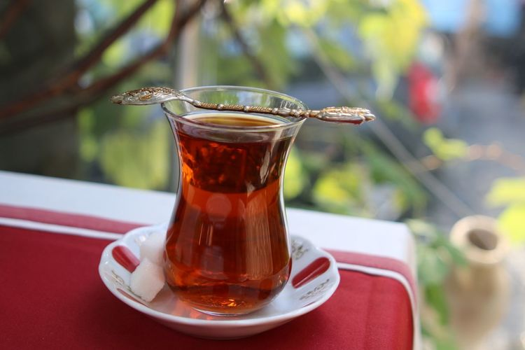 Turkey Dogubayazit Close-up Drink Drinking Glass Food And Drink Healthy Eating No People Outdoors Ready-to-eat Refreshment Tea - Hot Drink çay