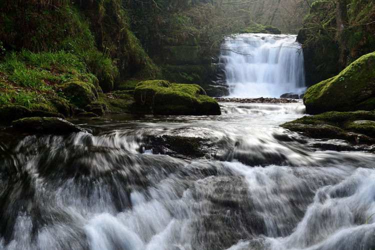 Check This Out Devon EyeEm Best Shots EyeEm Nature Lover Flowing Water Nature Taking Photos Tranquility Watersmeet Beauty In Nature Day Flowing Water Idyllic Landscape Long Exposure Motion Nature_collection No People Non-urban Scene Outdoors River Scenics Tranquil Scene Water Waterfall