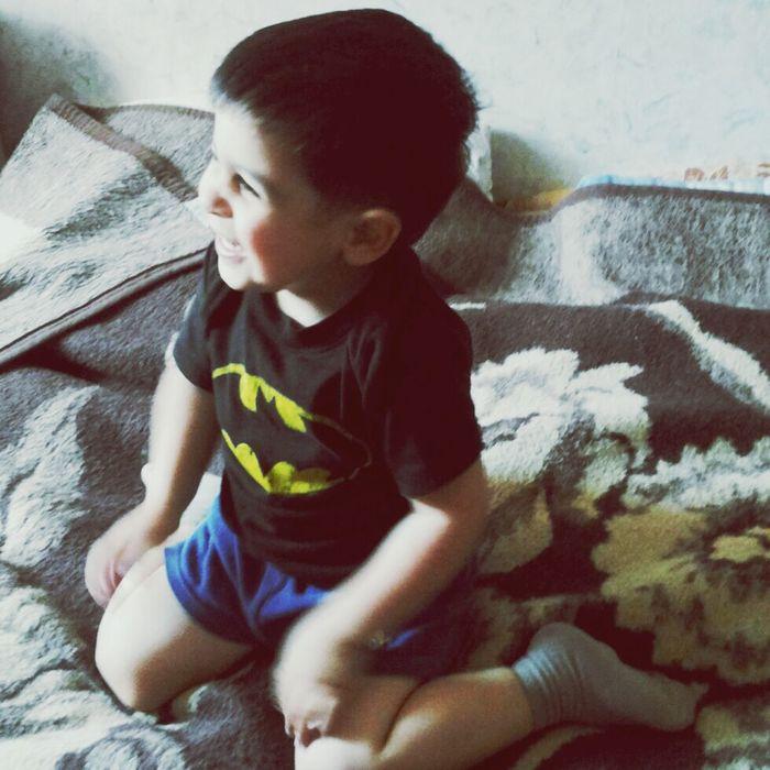 Babyboy My Batman Cute Smile ✌