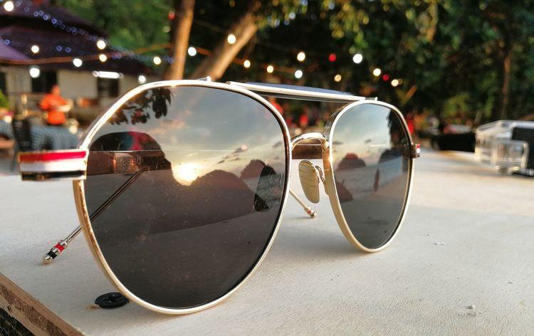 Sunglasses Reflection Protection Eyeglasses  Eyewear Outdoors No People Day Tree The Great Outdoors - 2017 EyeEm Awards Pangkor Island Malaysia