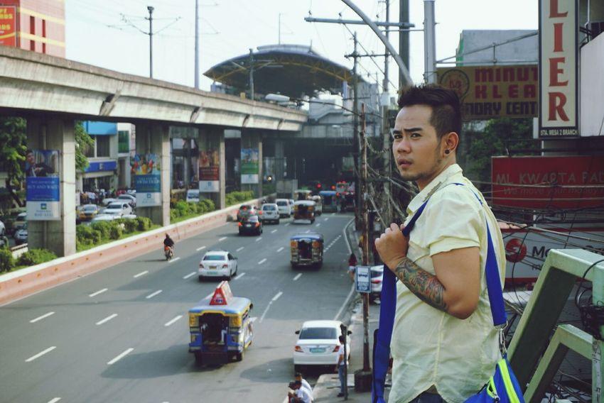 Bridge Overpass Sta. Mesa San Juan City Metro Manila Philippines Urban Lifestyle