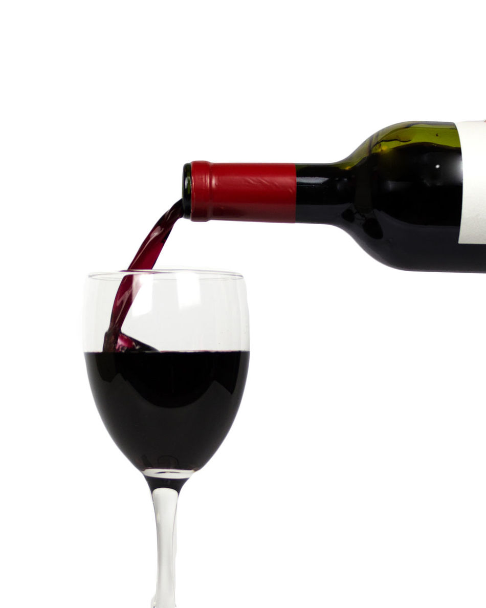 Alcohol Cabernet Close-up Drink Food And Drink Merlot No People Pouring Wine Red Red Wine Studio Shot White Background Wine Wine Bottle Wine Pour Wine Pouring Wineglass Winetasting