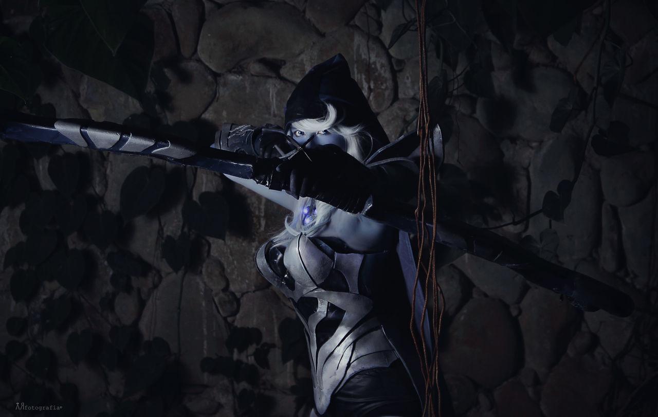 Dota Dota2 Drow Exploration Holding Mask - Disguise Outdoors Person
