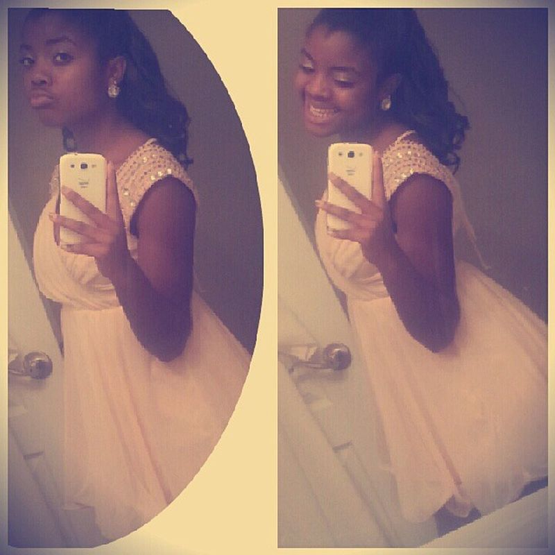 Homecoming2k13 Me last night, I was told I looked like a baby doll lol:p
