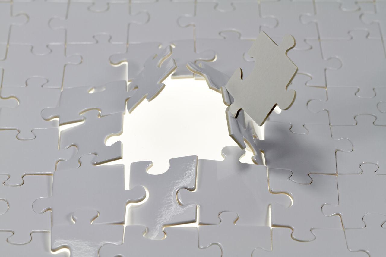 Beautiful stock photos of puzzle, Abundance, Grey Color, Ideas, Incomplete