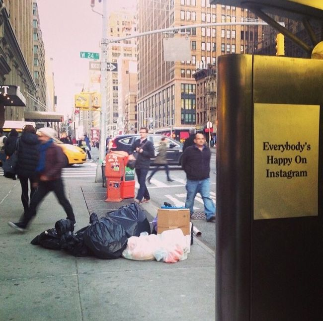 Happy Happiness New York City NYC Streetphotography Phone Phonebooth Manhattan Chelsea Socialmedia