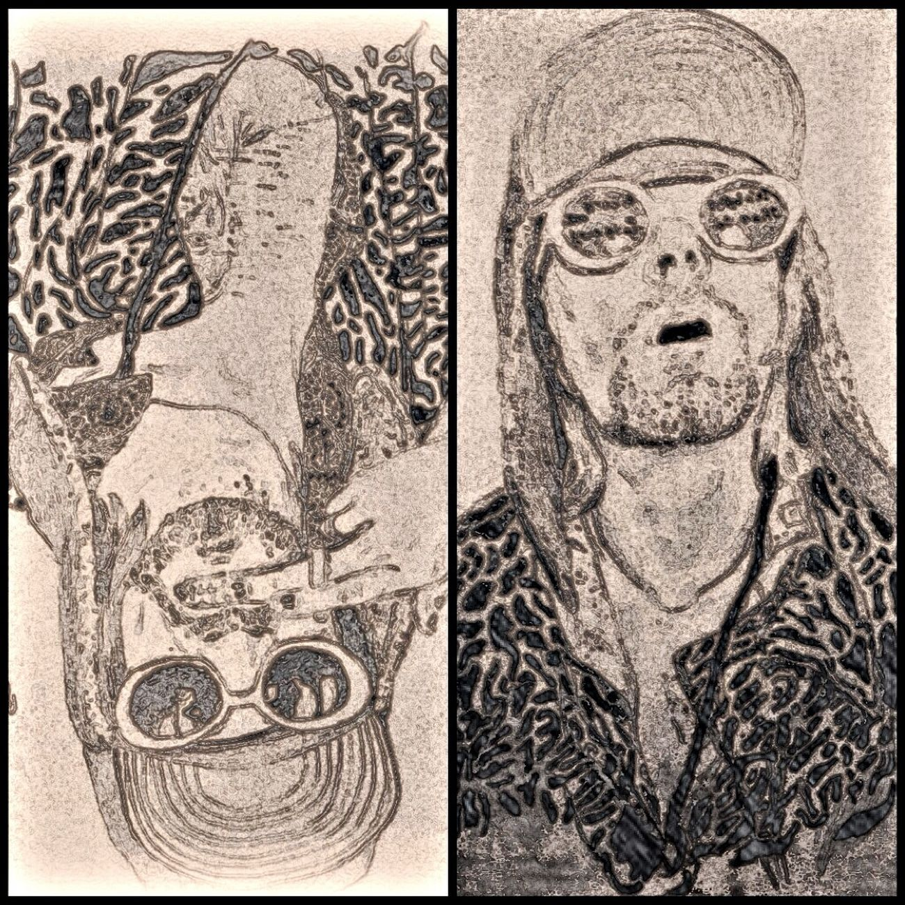 Kurt cobain .. The leader Draw Drawing Art ArtWork