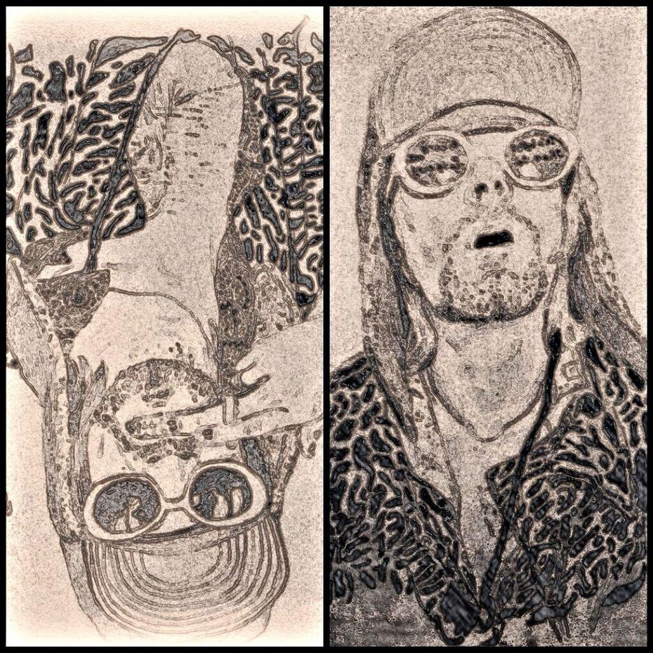Kurt cobain .. The leader Draw Drawing Art ArtWork