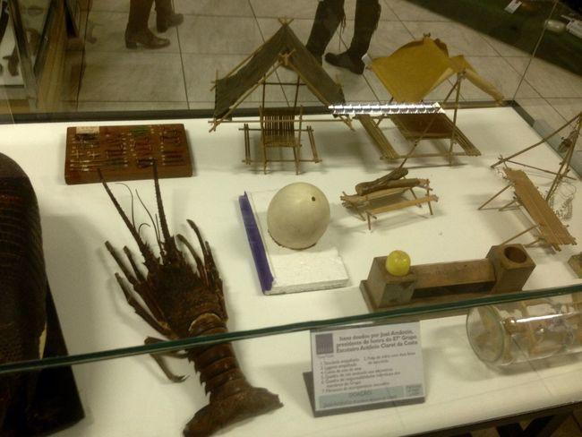 Objetos da Epoca (13ª Semana de Museus para uma sociedade Sustentável )