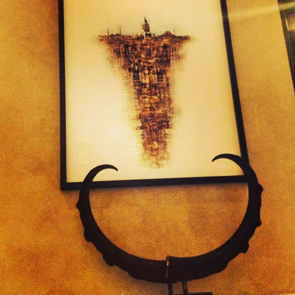 Art IPhoneography Antlers Galata Tower