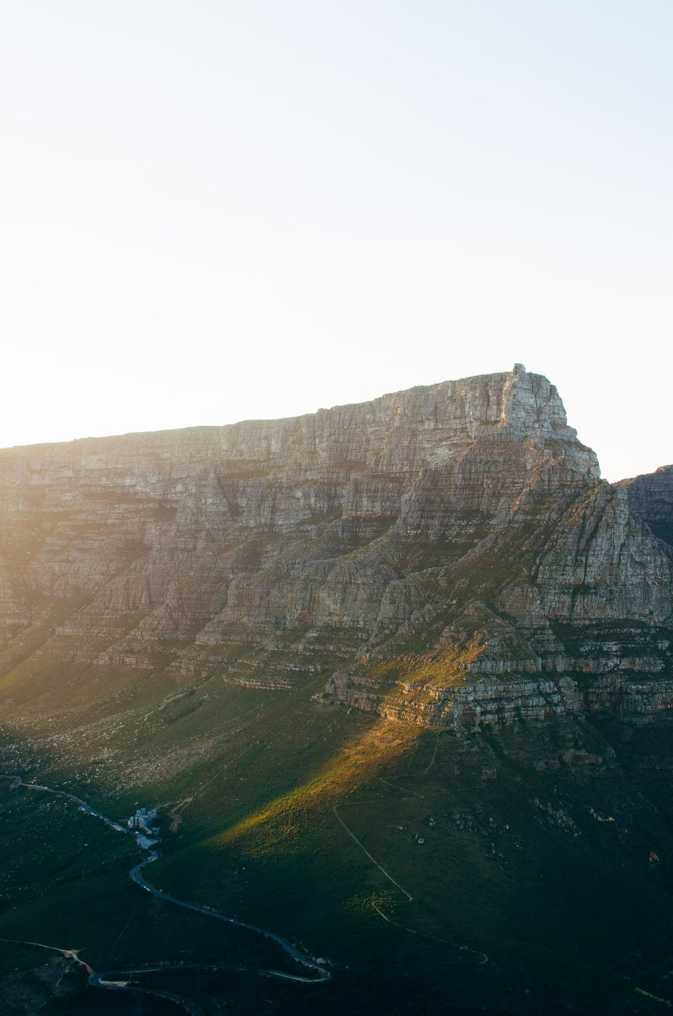 Cable Car Cape Town Mountain Nature Outdoors South Africa Sunrise Table Mountain