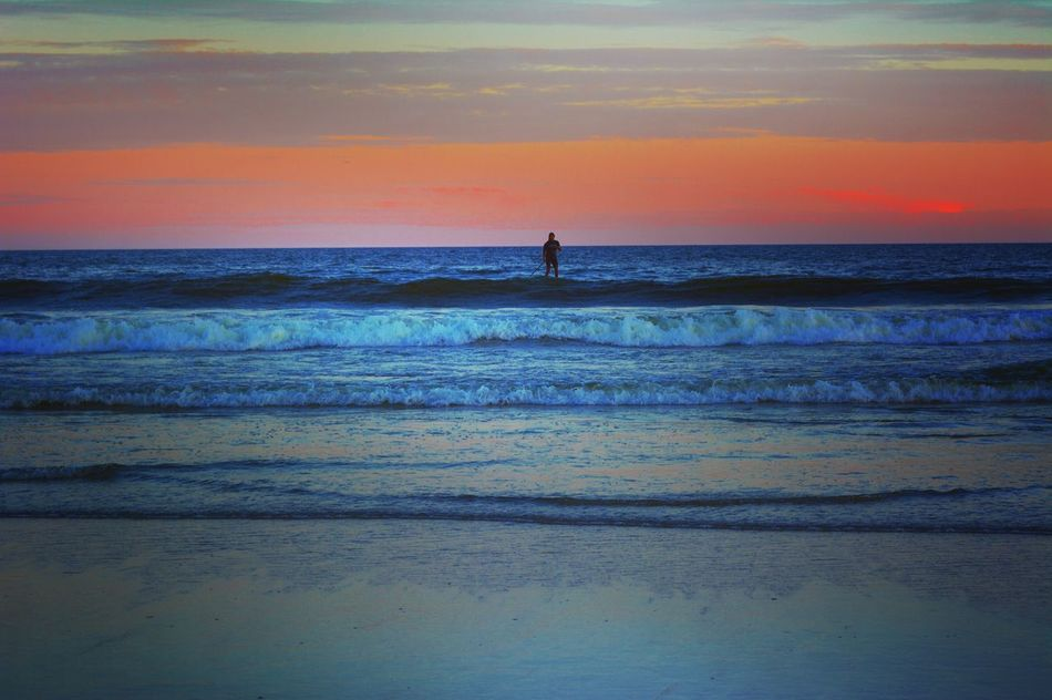 Sea Ocean View Ocean Surfer Photography Photo Tiro Water Beach Sunset Activity
