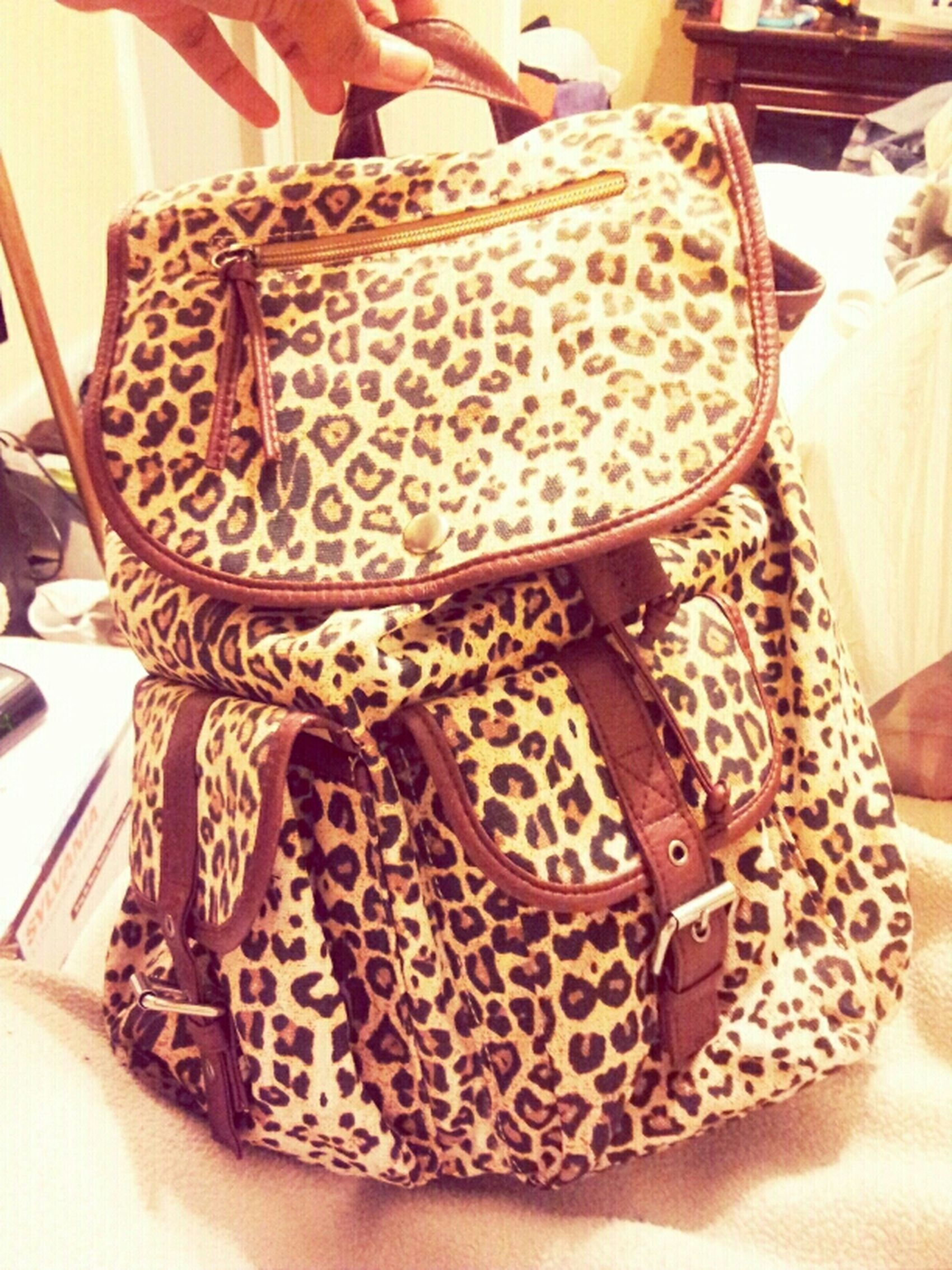 new purse for now #CheetahPrint