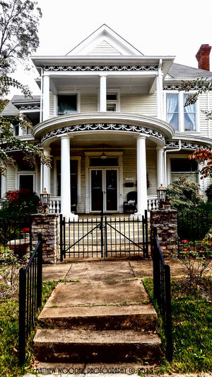 """""""Part Beaux-Arts and part Victorian"""" Architecture Balcony Door Entrance Historic Railing Residential District Steps Victorian Victorian Architecture Victorian House Victorian Times Victorianhouse Victorianstyle"""