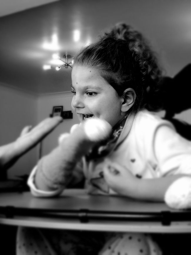 Childhood Black And White Children Only Close-up People Family MyFamily💗 Disability Not Inability Disabilityaintshit Black And White Photography Black & White Lazysunday SundayFunday Nowork