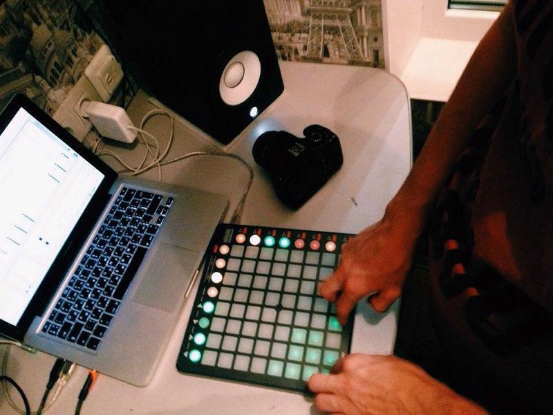 Launchpad Music Instrumental Cubase Studio