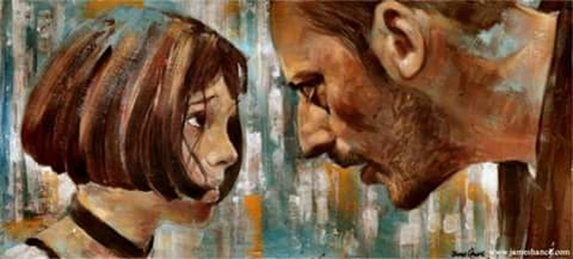 Leon: The Professional Mathilda Leon MOVIE Natalie Portman Jean Reno