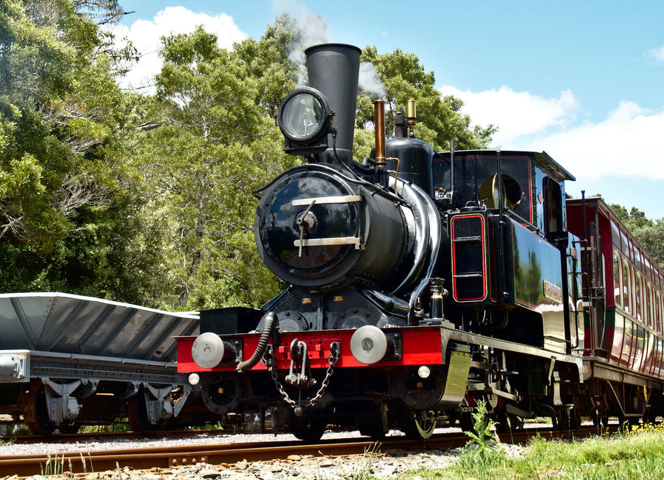 Had an awesome time riding the Mount Lyell No.3 Loco with the West Coast Wilderness Railway Tasmania Steam Locomotive Railway Hero Shot Olympus OM-D E-M5 Mk.II Old Train