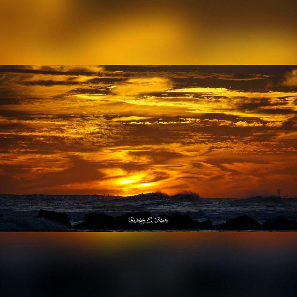 Sunset At Long Beach, NY Beachphotography Beautiful Sky Sunset_collection Popular Photos Sky Collection EyeEm Best Shots Visualmagic Sunset #sun #clouds #skylovers #sky #nature #beautifulinnature #naturalbeauty #photography #landscape EyeEm Sunset