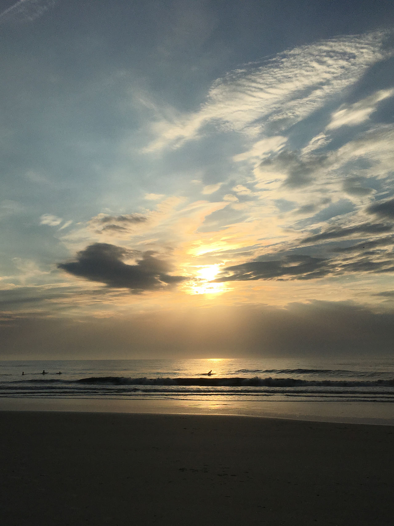 Sunrise Beach Beauty In Nature Cloud - Sky Day Horizon Over Water Idyllic Nature No People Outdoors Sand Scenics Sea Sky Sunset Tranquil Scene Tranquility Water