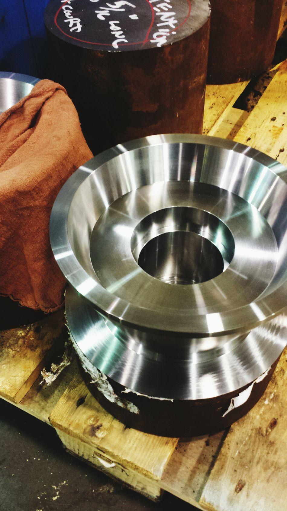 Rust Turning Metal Steel Machinery Okuma Workshop Machine Tool