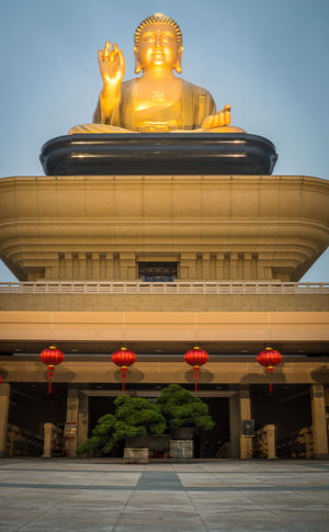 Architecture Buddha Buddhism Buddhist Temple Building Exterior Built Structure Clear Sky Day Low Angle View No People Outdoors Religious Architecture Sculpture Statue Taiwan Temple Temple - Building