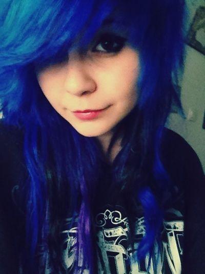Hair Colors Blue
