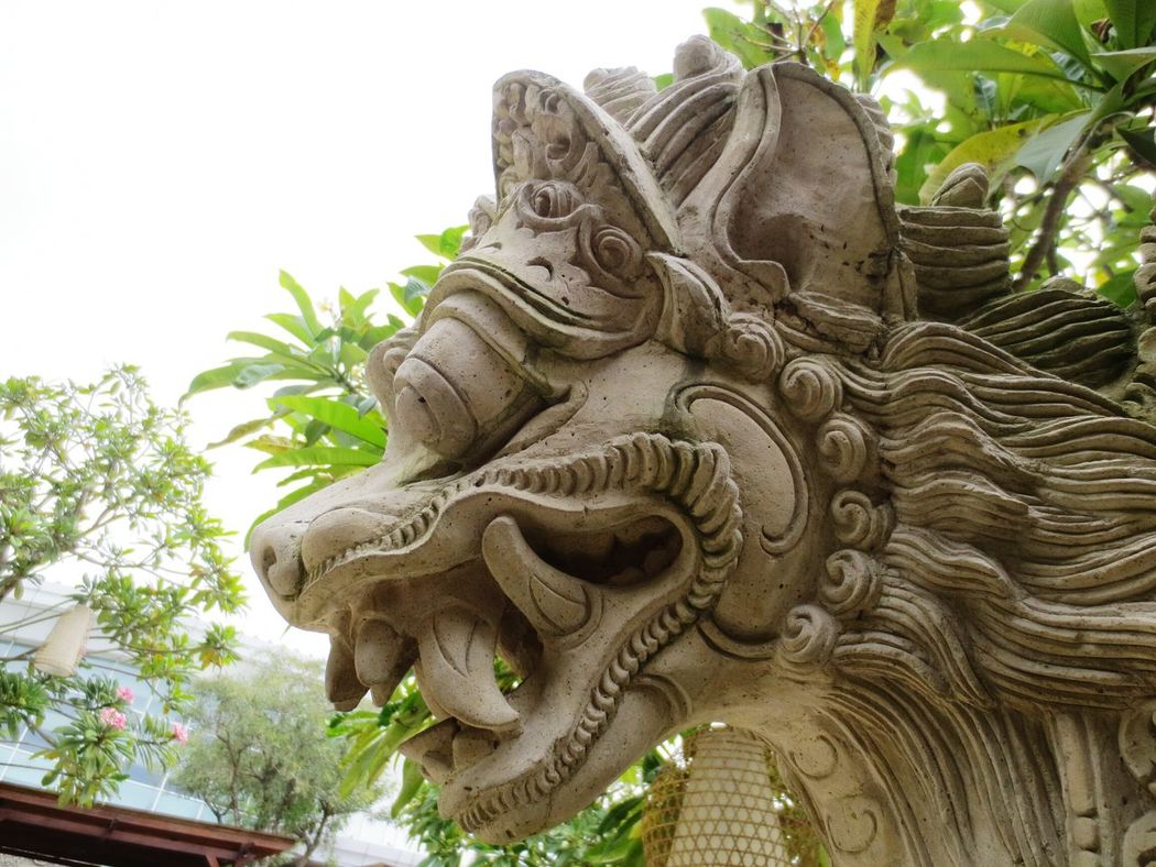 Hidden Gems  The Living World Alam Sutera ArtWork Balinese Culture Traditional Culture From My Point Of View Outdoor