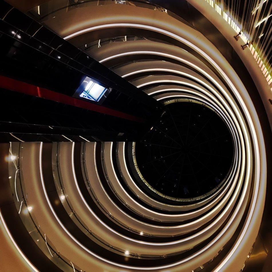 El túnel del tiempo Liberty Franklin Puebla Hipstamatic Urban@ndante IPhoneography