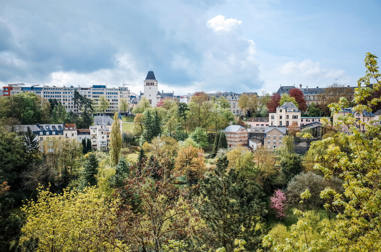 Beautiful stock photos of luxemburg, Architecture, Building Exterior, Built Structure, City