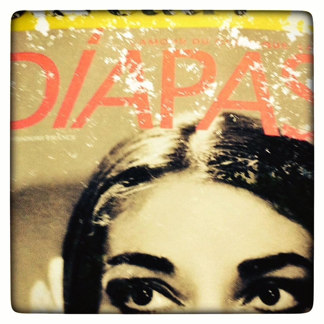"""Maria"" paris poster detail Paris, France  Maria Callas Eyes Close-up Poster Magazine"