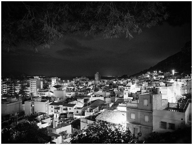 SPAIN Cullera Nightphotography Night Lights Blackandwhite Photography