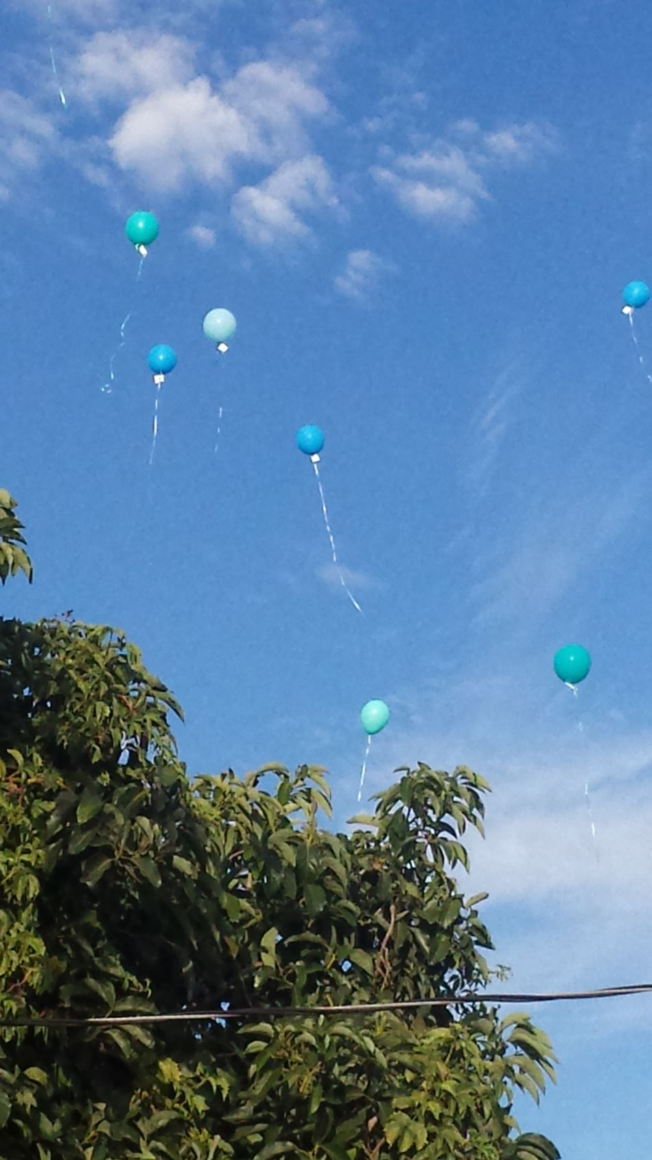 Pray Balloons Going UP!! Brigtstarchurch GodIsGood My Beautiful Life