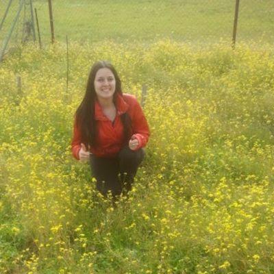 yo entre las flores