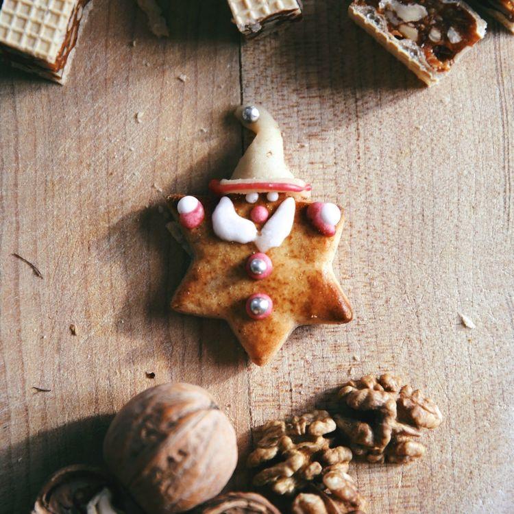 Hello World Kekse Plätzchen  Weihnachtsbäckerei